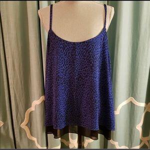 Royal blue torrid top! Size 2!
